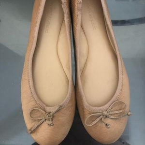 Brown Banana Republic Ballet Flats